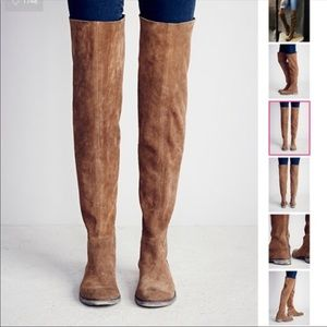 Free People | Carlisle Suede Over the Knee Boot
